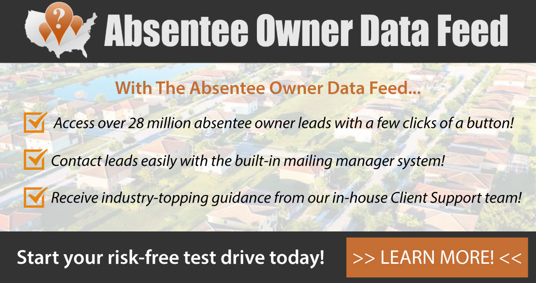 Absentee Owner Data Feed
