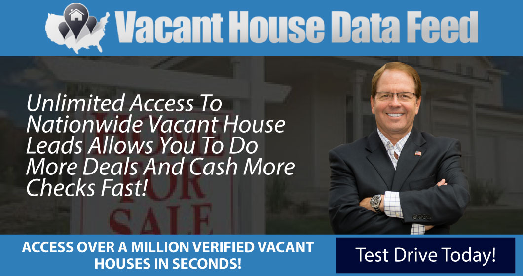 Vacant House Data Feed